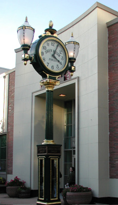 Street Clock Reproduction Parts