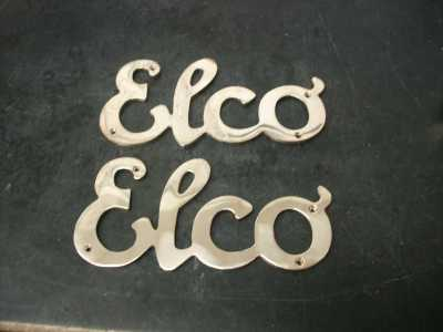 Reproduction Elco Logo