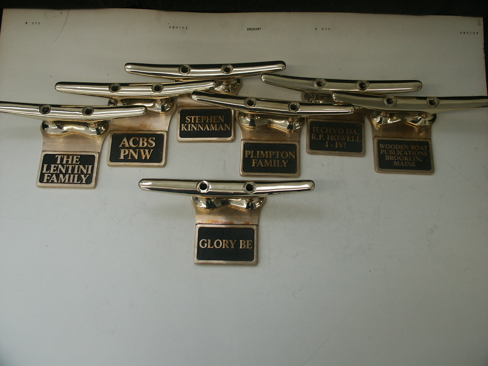 Dock Cleat Plaques