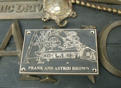Residential Plaque