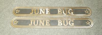 Cap-Rail-Mount Name Plates