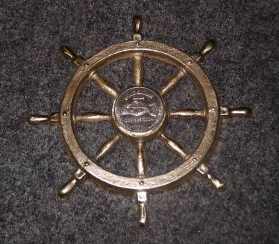 Commemorative Ship's Wheel