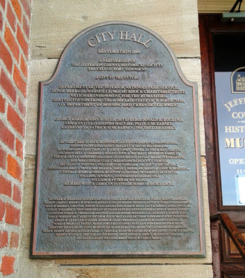 Custom Municipal Plaque