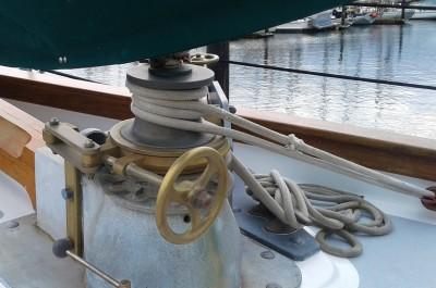 Windlass Brake Band Hand Wheel