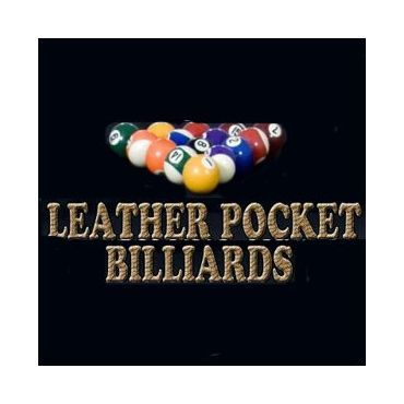 Leather Pocket Billiards