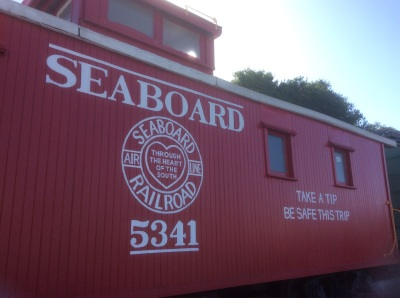 Our Caboose Looks Beautiful!