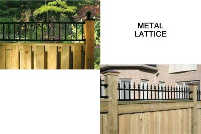 Gates - Metal Lattice Options