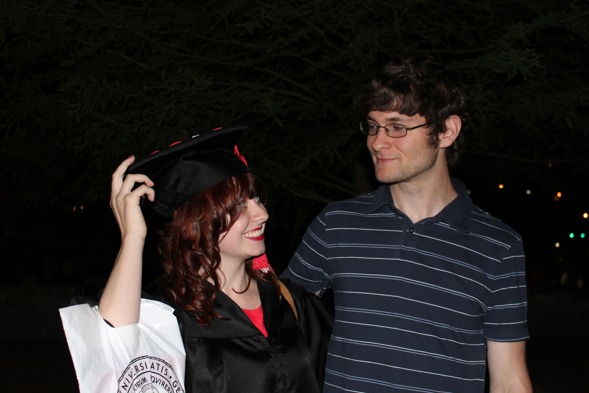 2012 - Jamie's College Graduation