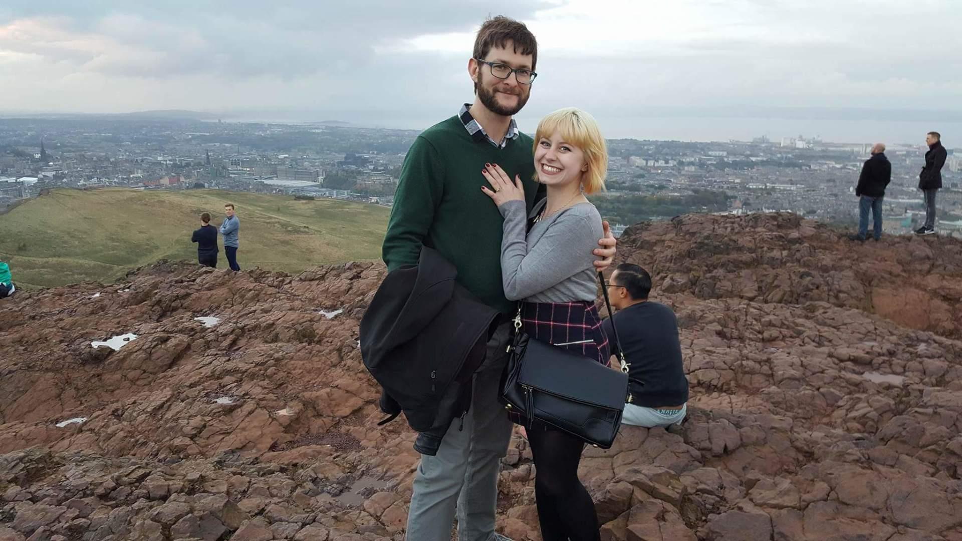 2016 - Engaged in Edinburgh