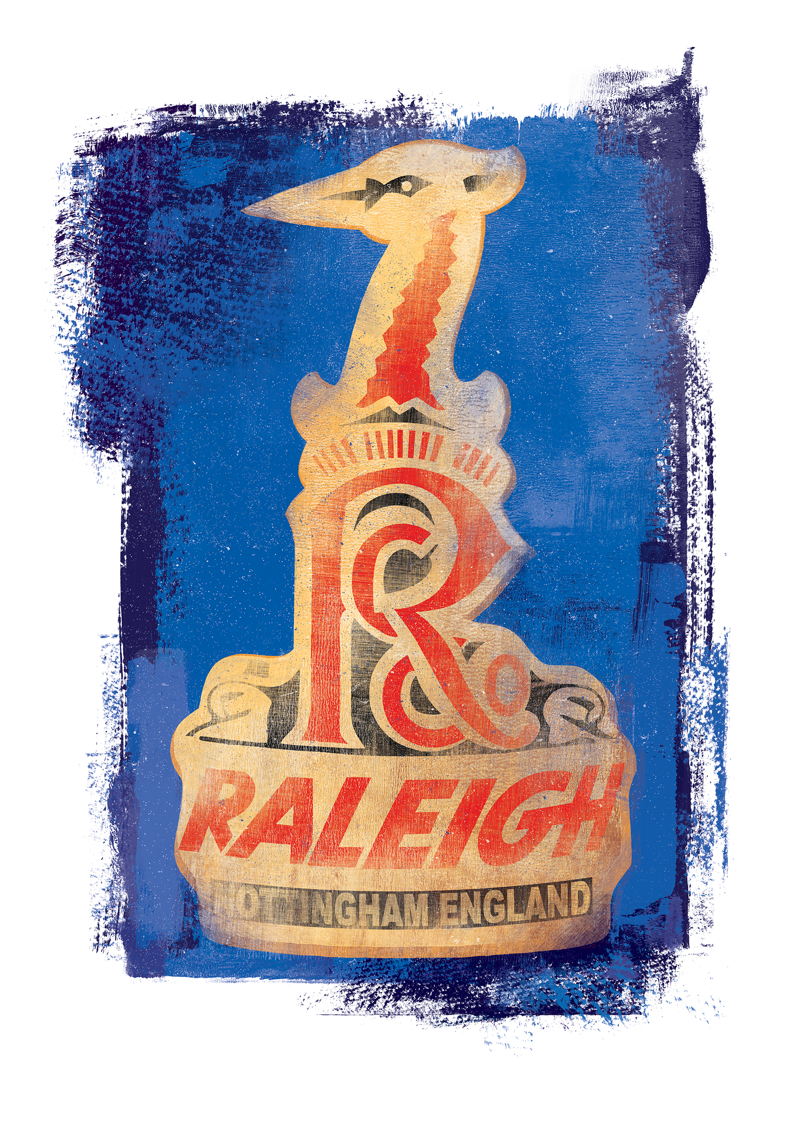 Raleigh Headbadge