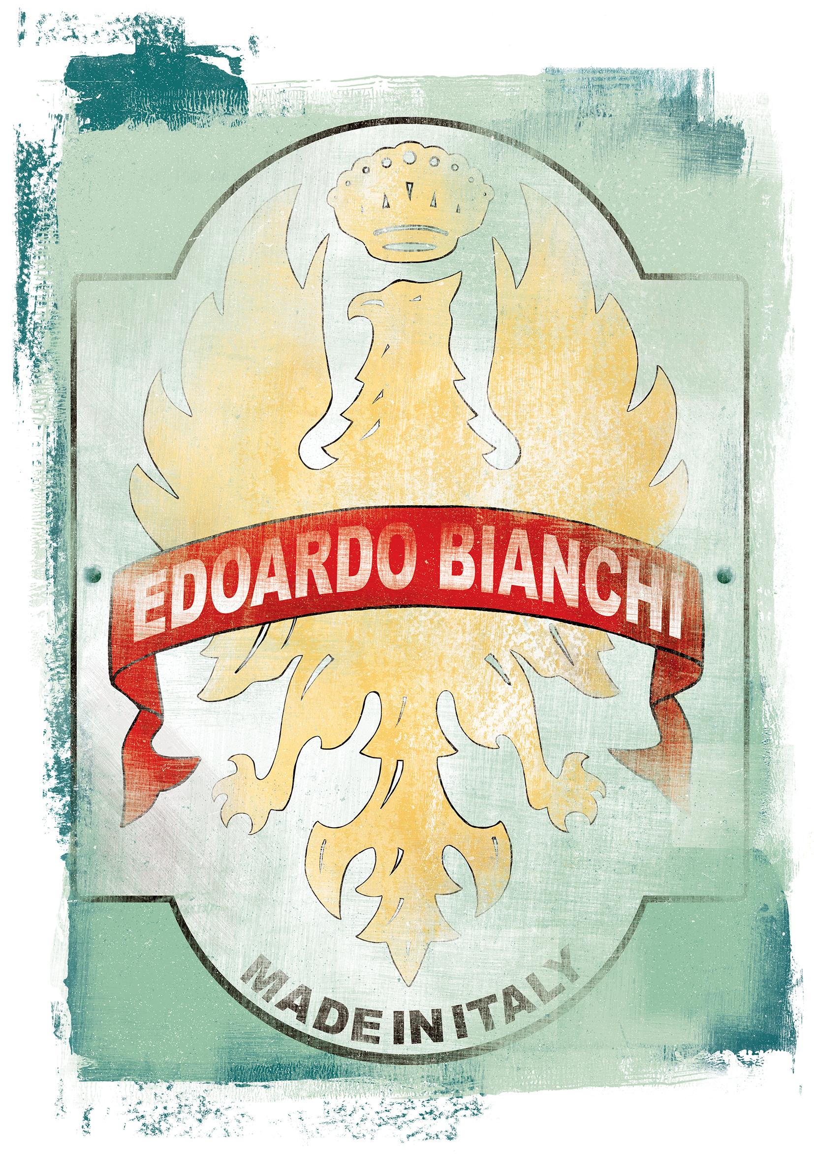 Bianchi Headbadge