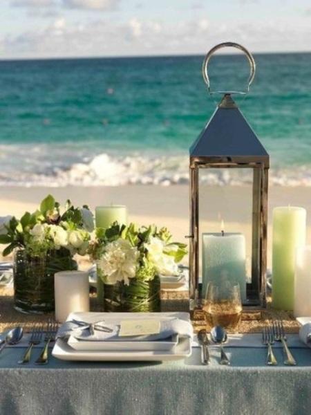 Beach Wedding Setting
