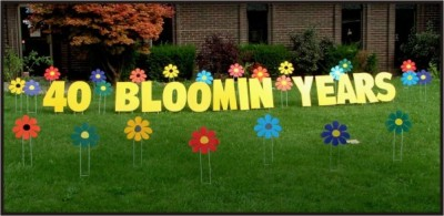 Message Boards Are Available For Smaller Yard Displays