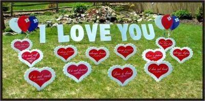 Illinois Lawn Yard Greeting Lawn Sign Yard Decoration