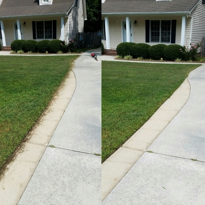 Again, edging makes a difference.
