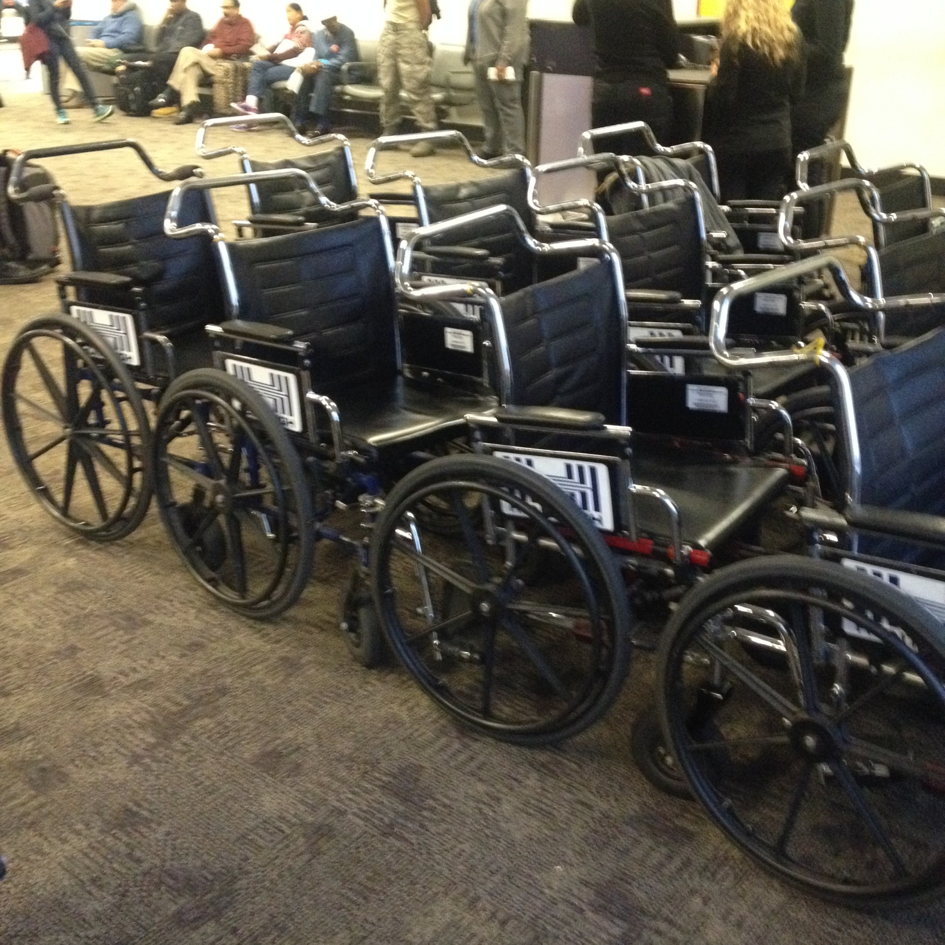 wheelchair, airports, transport chairs, porters, luggage, medical supplies