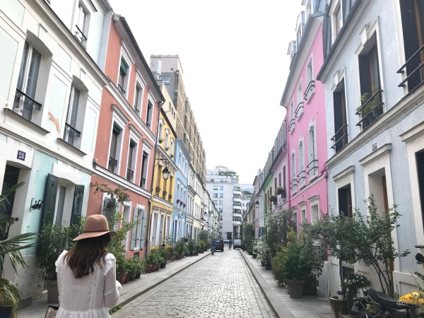 Rue Cremieux...The Rainbow Street