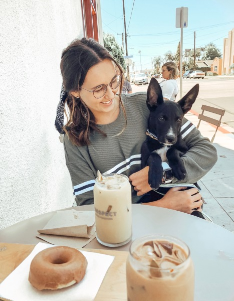 Coffee Shop and Puppers