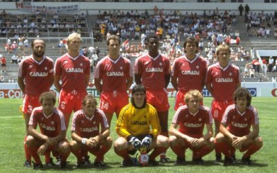 1986 Canadian Men's National Soccer Team