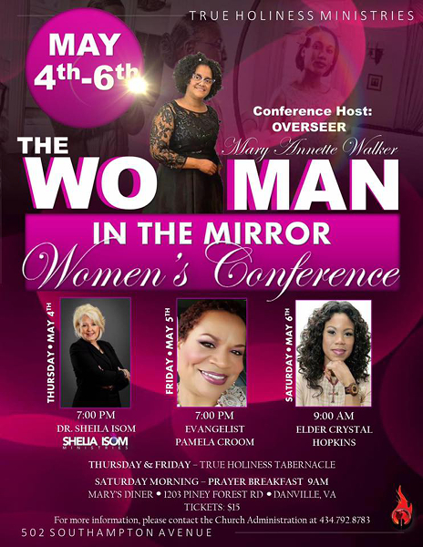 "THMI Women's Conference 2017 - ""The Woman in The Mirror"""