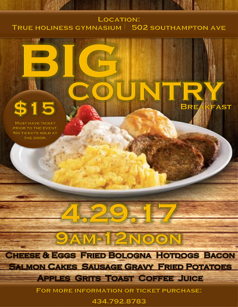 Big Country Breakfast