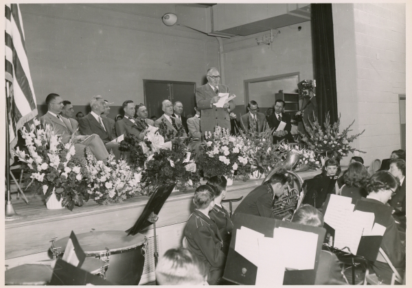 Powers Elementary School Dedication Ceremony