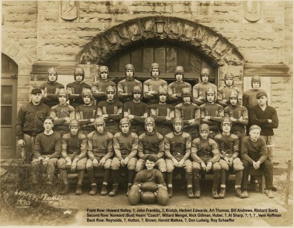 AHS Football, 1930
