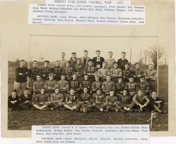 AHS Football, 1931