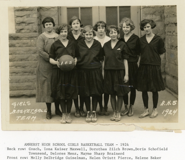 AHS Girls Basketball: 1924