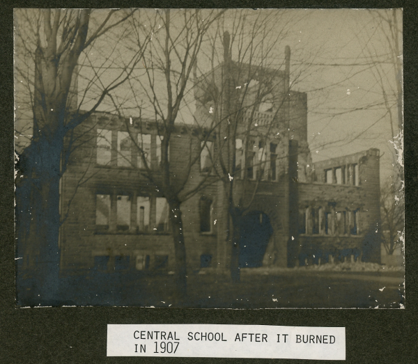 Ruins of Central School