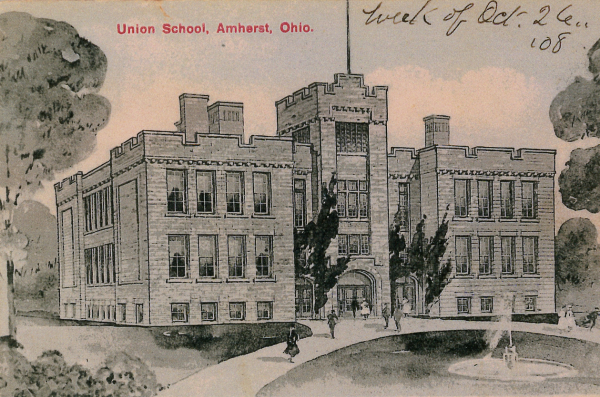 Postcard of Central School