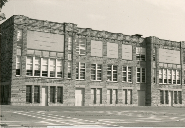 Central School, west side