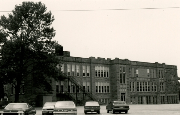 Central School, north side
