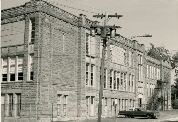 Central School, southern side
