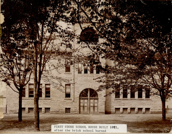 First Central School, pre-fire