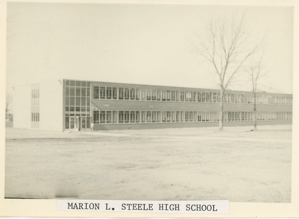 Marion L. Steele High School: Original Structure