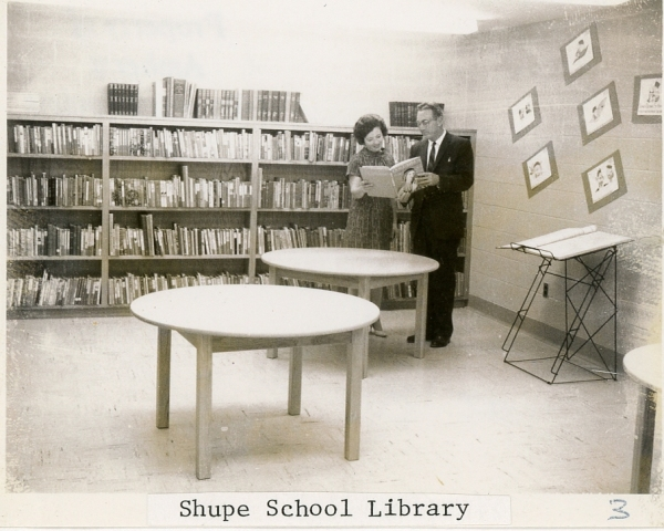 Shupe School Library