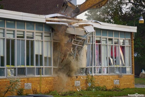 Shupe School Demolition