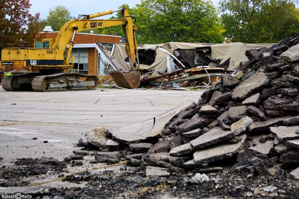 Shupe School Demolition