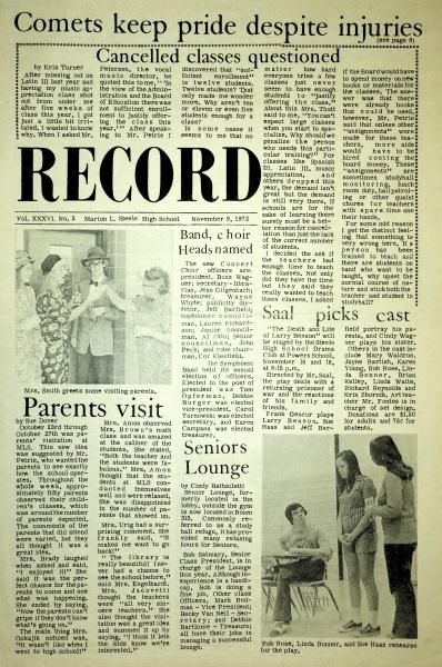 November 9, 1972