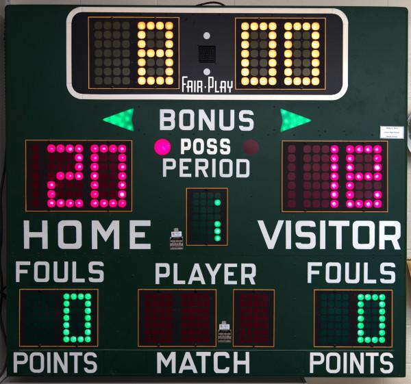 Scoreboard: Walter G. Nord Jr. High School