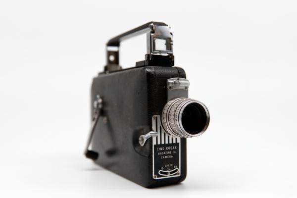 Mr. Powers' Kodak Cine-Kodak Movie Camera