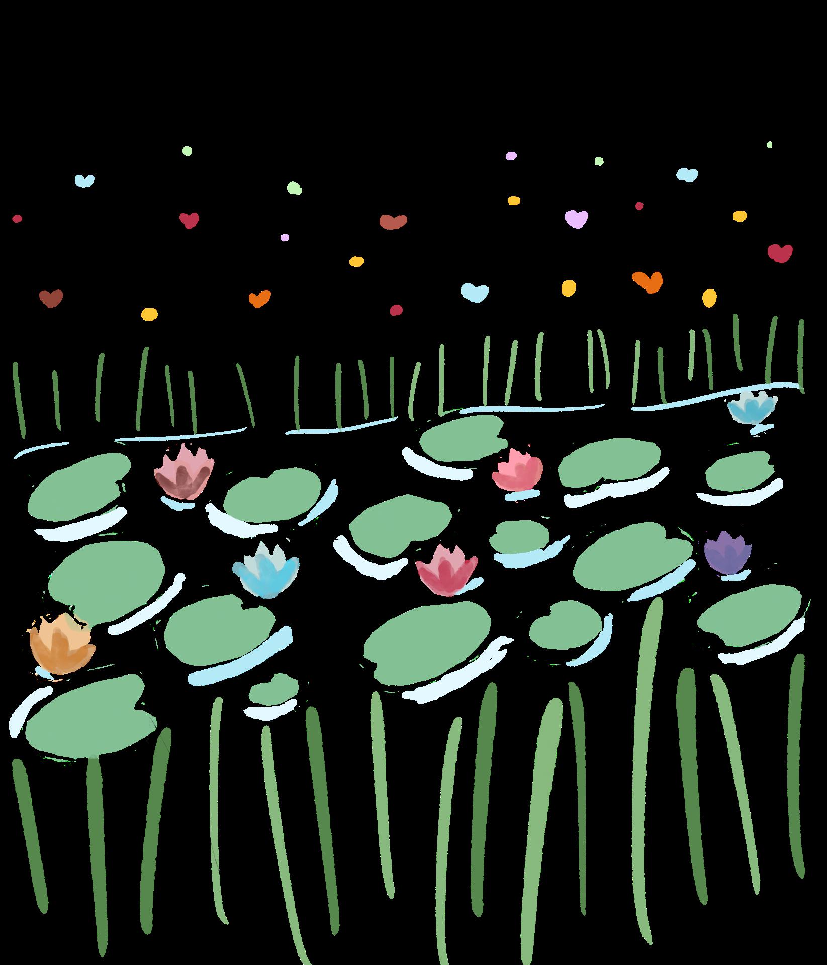 Silk fabric illustration