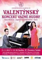 Aneta Ručková a Josef Kratochvíl Valentýnský koncert zvonice Soláň