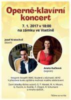 Aneta Ručková a Josef Kratochvíl Operně Klavírní koncert