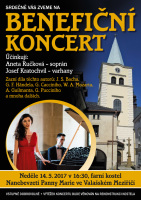 Aneta Ručková a Josef Kratochvíl Benefiční koncert Valašské Meziříčí