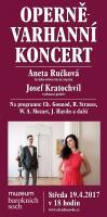 Aneta Ručková a Josef Kratochvíl Operně Varhanní koncert