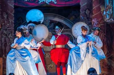 Baroque opera- princess Amaltea