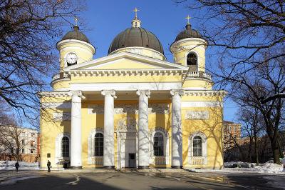 Singing-organ concert in Petersburg (Russia)