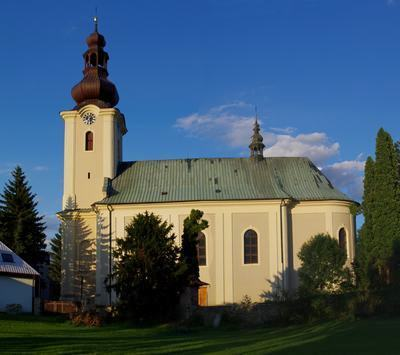 Singing-organ concert in Rožnov pod Radhoštěm (CZ)
